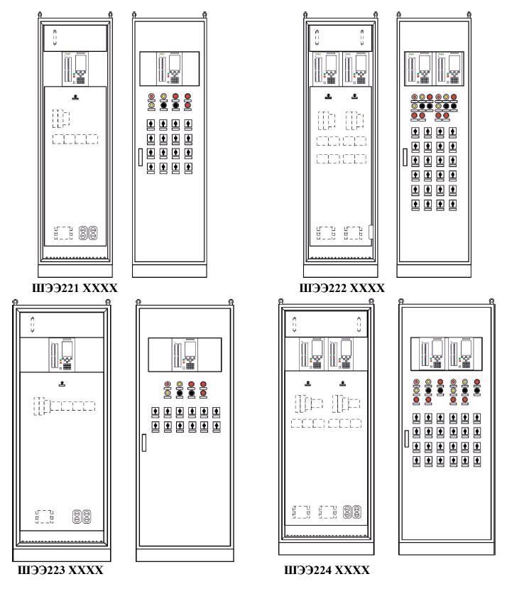 Конструктивное выполнение ШЭЭ221